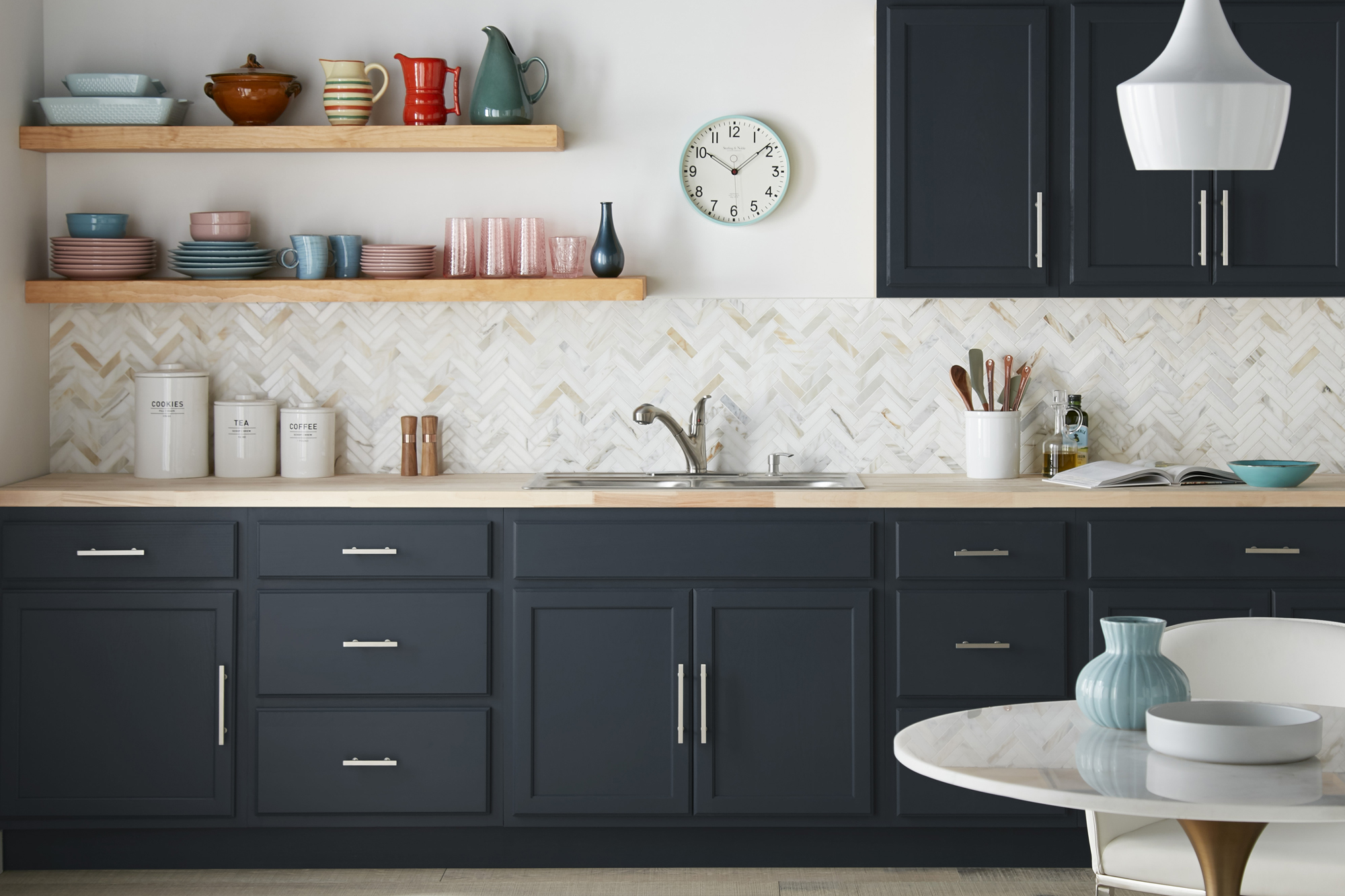Styled By Color One Kitchen Three Ways The Perfect Finish Blog By Kilz