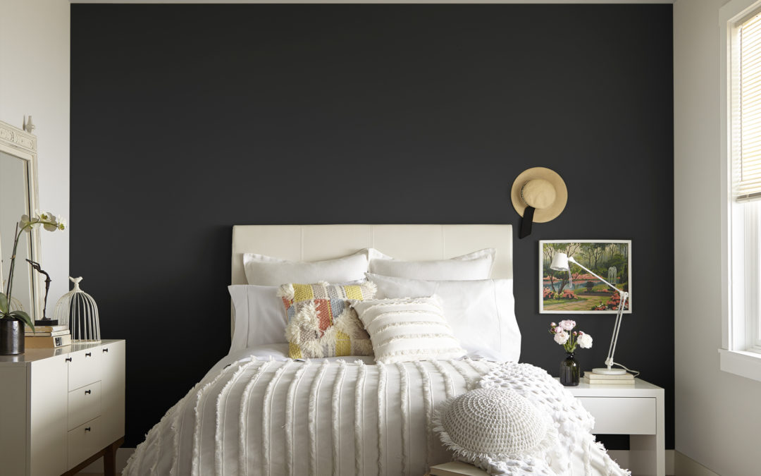 How-To Paint a Dark Accent Wall