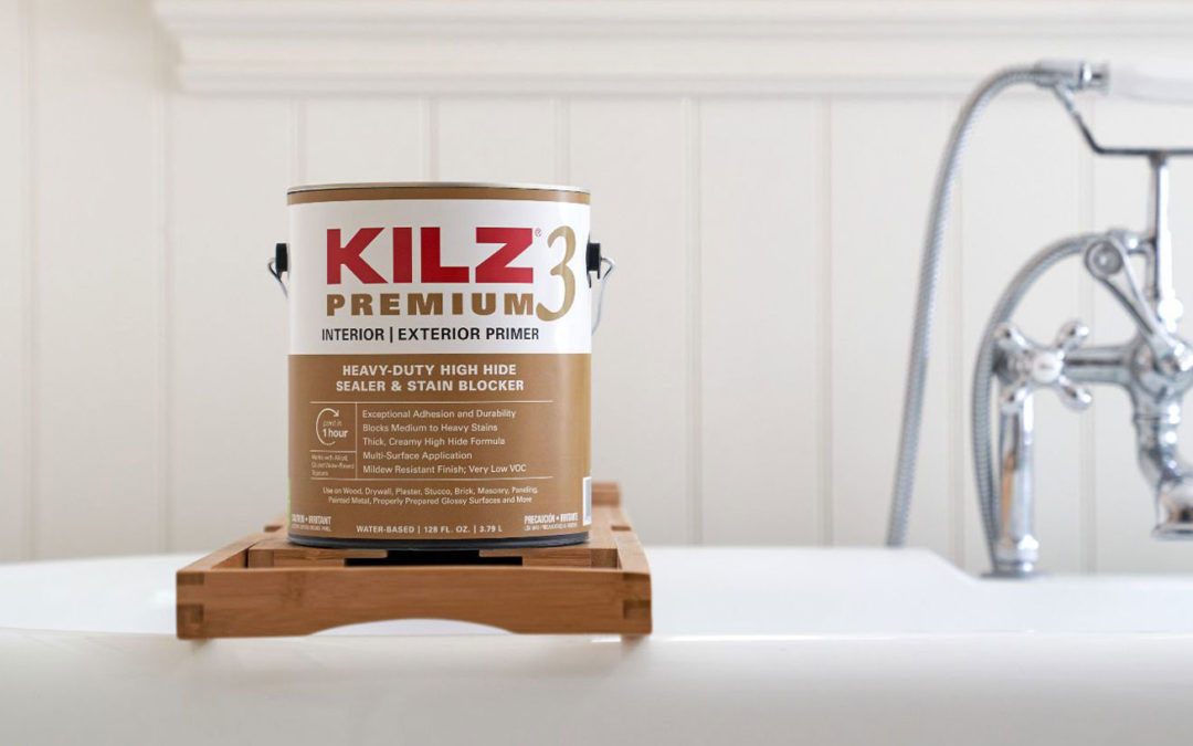 These Three Rooms Call for a Primer that provides a Mildew-Resistant Primer Finish