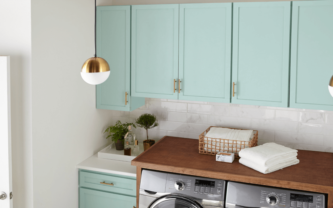 Fresh as Spring Laundry Room Makeover