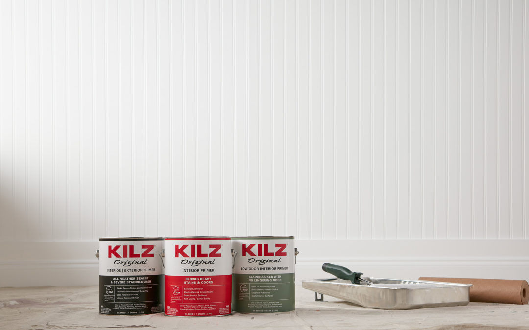 Odor Blocking Primers for Fresh as Spring Painting Projects