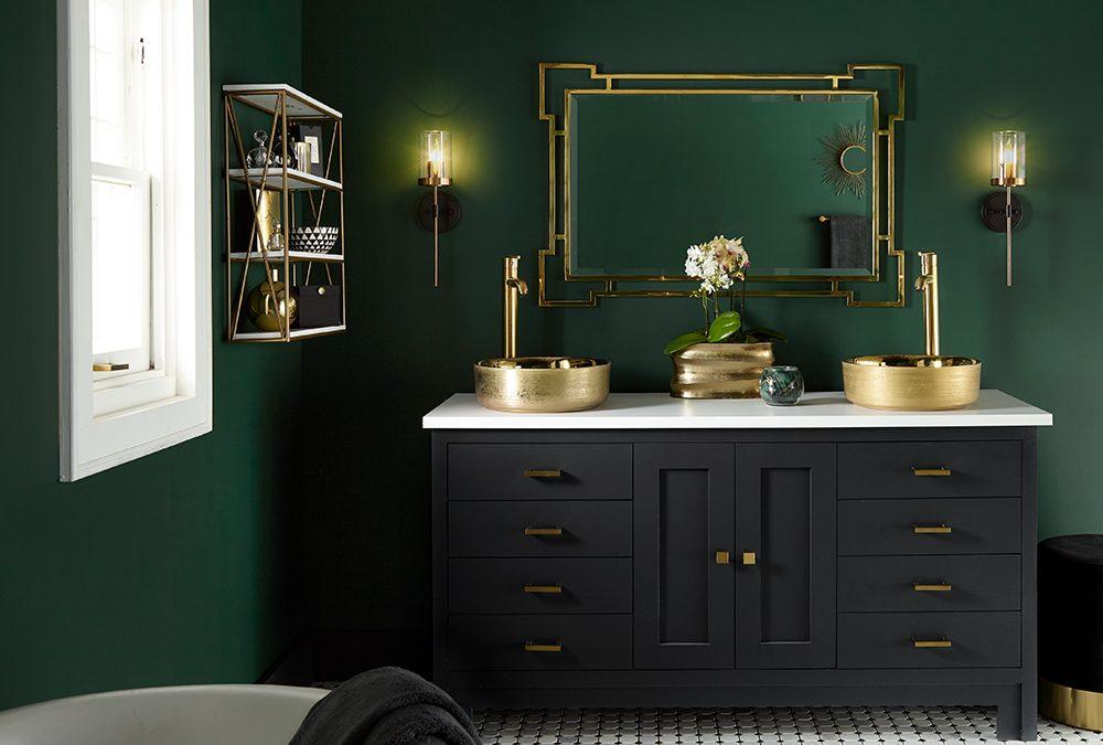 Moody Master Bathroom Makeover