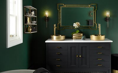 Moody Master Bathroom Makeover