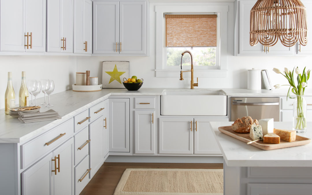Cool & Calming Kitchen Makeover