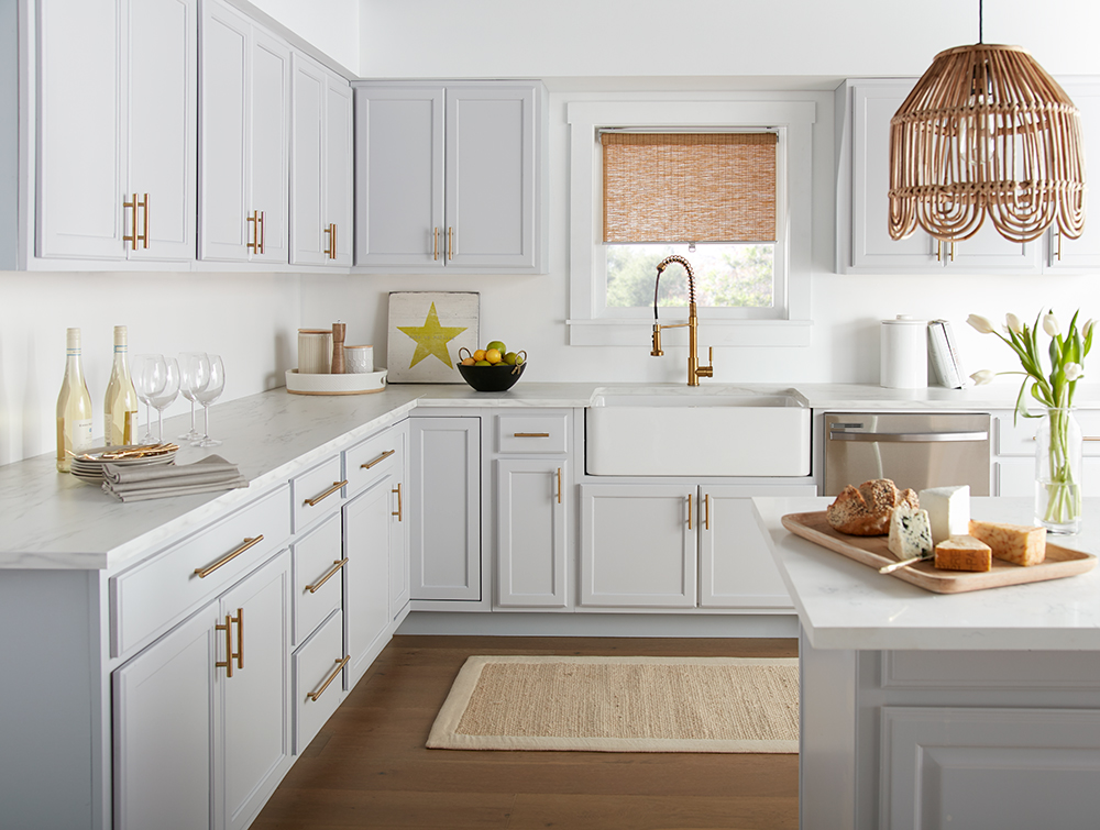 Cool & Calming Kitchen Makeover   The Perfect Finish Blog ...